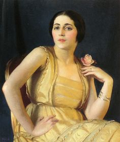 The Athenaeum - Little Russian (William MacGregor Paxton - )