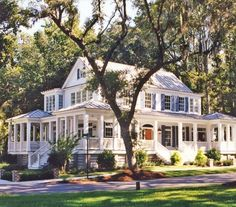 Farmhouse With Wrap Around Porch old | ... farmers porch farmhouse porch white house wrap around porch house. So big, but oh so pretty!
