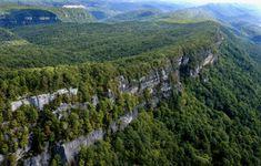 cumberland-gap-white-rocks Cumberland Gap National Historical Park KY, TN, VA