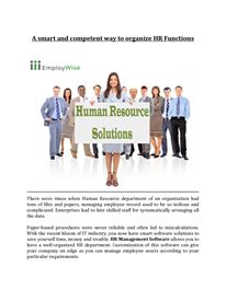 Guide to Recruitment and Payroll Software