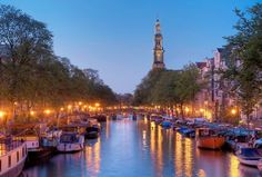 Amsterdam tourism candlelight