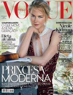 Nicole Kidman for Vogue Portugal December 2015