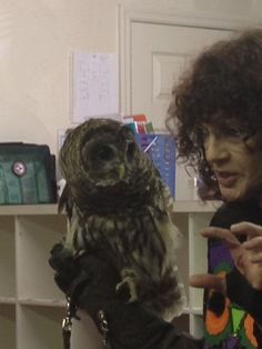 Sandy Beck joined us for a fun time learning about nocturnal animals.