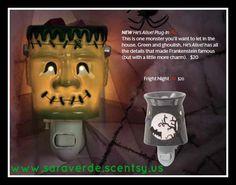 #Halloween #Scentsy Plug-In www.saraverde.scentsy.us