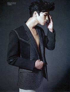 Sangil Kim Tackles Fall Silhouettes for Esquire Korea