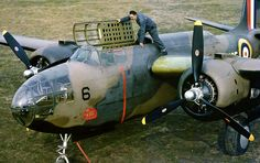 Douglas DB-7A Boston mk. II Seen at Floyd Bennett Field, Long Island, New York in 1941.