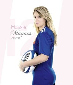 Marjorie Mayans - Rugby - France