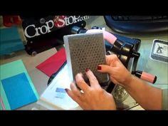 Embossing Folders in the Big Shot - Embossing Folder Tutorial Series #2 - YouTube