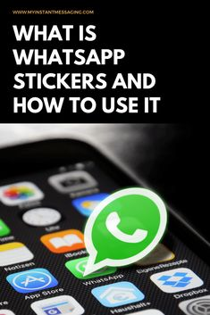WhatsApp has announced that they are now allowing the stickers function in their platform. Interested in using WhatsApp stickers? Instant Messaging, App Icon, Being Used, Messages, Stickers, House, Ideas, Home, Application Icon