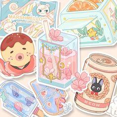 Cute Easy Drawings, Kawaii Drawings, Aesthetic Art, Aesthetic Anime, Casting Kit, Cartoon Art Styles, Pastel Art, Kawaii Art, Fairy Art