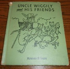 Uncle Wiggily and His Friends Vintage Child's Book by heritagegeneralstore