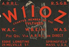 50 's 60 's QSL cards mailed to and from radio operators to confirm an exchange. own collection