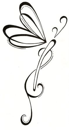 Latest Dragonfly Tattoo Sample