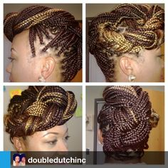 ... Styles on Pinterest Box braids, Box braids bob and Crochet braids