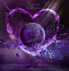 My world is a Purple Heart.