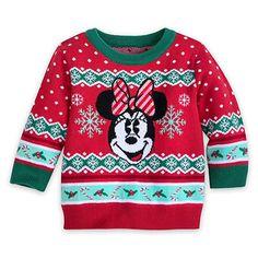 Disney Santa Minnie Mouse PJ PALS for Baby Size 3-6 MO Multi