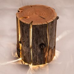 The Cracked Log Lamps are made from salvaged logs which would otherwise have been burnt. These lamps embrace, rather than avoid the naturally occur...