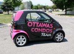 Ottawa Car Graphics - Ottawa Condos Smart Car