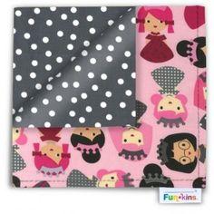 Funkins - Cloth Napkin - My BFFs Are Princesses