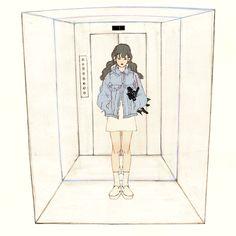 "1 2 3 The door""s opened. 문이 열리고 Elevator dropped me off somewhere. 엘리베이터가 데려다 준 문밖의 그곳은 Is it the right place? 내가 아는 그곳이 맞는 것일까?"