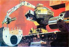 Chris Foss concept art for 1979′s Alien