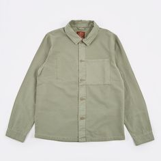 Satta Utility Shirt - Stonegreen