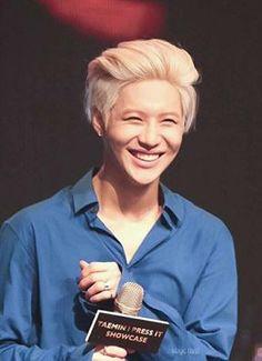 That smile . . . Taemin.