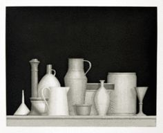 William Bailey, Untitled (Still Life) - Etching