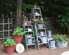 17 Best images about Old Wooden Ladders on Pinterest   Wooden ...