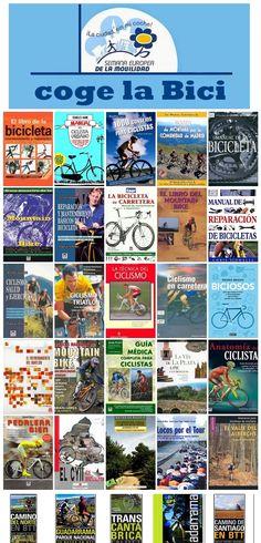 """En la semana de la movilidad: Coge la bici. Una """"mirilla"""" de la Biblioteca Municipal de Móstoles. http://bibliotecademostoles.wordpress.com/"""