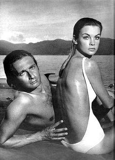 Jean Shrimpton 1967 #vintage #swimwear
