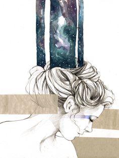 elia fernandez  Universe by ~elia-illustration on deviantART