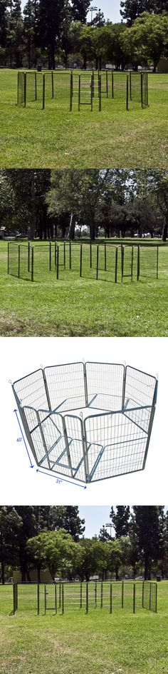 Fences and Exercise Pens 20748 48 Tall Animal Pet Dog Puppy Cat
