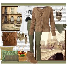 Rown's Knits for Winter by rownstyle on Polyvore featuring moda, Fat Face, VILA, SELECTED, Michael Kors, Poppie Jones, Lucky Brand, True Religion, Seven Gauge Studios and Fountain