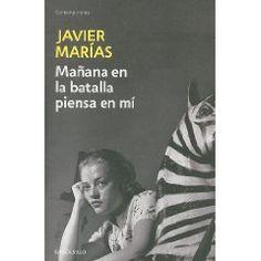Con este libro conocí a Javier Marias y pensar que mi vecino estaba tirando la novela al basurero!