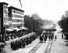 Gen. William Sherman's army in Washington, D.C., May 1865, during the American Civil War.