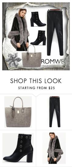 """Romwe no.7"" by almamehmedovic-79 ❤ liked on Polyvore"