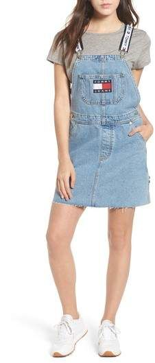 multiple colors factory outlet 100% high quality TOMMY JEANS Dunagree Dress | Womens denim dress, Tommy clothes ...