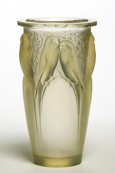 Vase [Ceylan] by René Lalique, France circa 1924