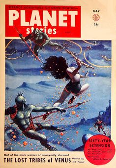 "Dedicated to all things ""geek retro:"" the science fiction/fantasy/horror fandom of the past including pin up art, novel covers, pulp magazines, and comics. Pulp Magazine, Magazine Art, Magazine Covers, Book Cover Art, Comic Book Covers, Book Art, Planet Comics, Pulp Fiction Book, Fiction Novels"