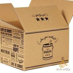 ダンボール 段ボール箱 デザイン(ブルックリン)宅配80サイズ 314×221×深さ141mm 100枚セット :DSBK-80-L100:ダンボールワンYahoo!店 - 通販 - Yahoo!ショッピング Shipping Packaging, Carton Box, Shipping Boxes, Box Design, Packaging Design, Packing, Branding, Anniversary, Tags