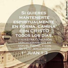 1 Juan 1:3 lo que hemos visto y oído, eso os anunciamos, para que también vosotros tengáis comunión con nosotros; y nuestra comunión verdaderamente es con el Padre, y con su Hijo Jesucristo.♔
