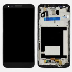OEM LCD screen with touch screen digitizer and frame for LG VS980 www.hexphone.net/goods.php?id=52