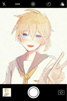 Ayyy q lindooo~ Hatsune Miku, Len Y Rin, Kagamine Rin And Len, Vocaloid Characters, Cute Characters, Girls Anime, Anime Guys, Kaai Yuki, Mikuo