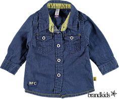 Babyface Overhemd voor jongens blauw - Jongens Overhemden en Blouses €24,95