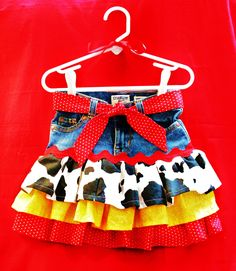 Jessie the Cowgirl Twirly Skirt Inspired by Disney's Toy Story. $34.00, via Etsy.