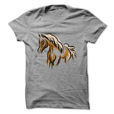 Brown Horse creative design art T-Shirts, Hoodies, Sweaters