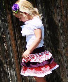 little ruffle skirt