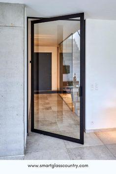 Glass Panel Door, Sliding Glass Door, Sliding Door Design, Doors With Glass Panels, Glass Pocket Doors, Sliding Patio Doors, Glass Bathroom Door, Glass Room, Interior Door Styles