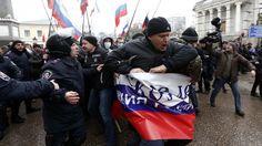 Ukraine Seeks IMF Rescue as Gunmen Storm Crimea Assembly - BLOOMBERG #Ukraine, #IMF, #Gunmen